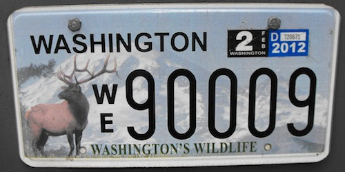 Wildlife Trailer Plates